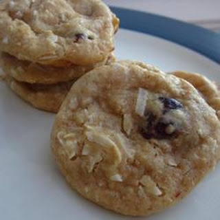 Raisin Coconut Treasure Cookies