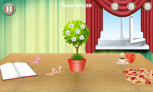 Plants vs Worms - screenshot