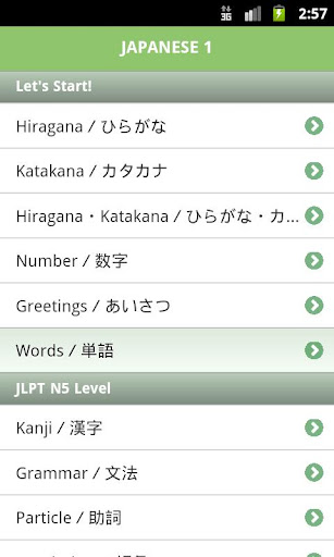 JLPT N5 vocab list - Tanos.co.uk