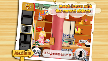 Screenshot of I Spy With Lola: Fun Word Game