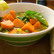 Moroccan Sweet Potato Soup