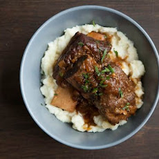 Beer Braised Beef Short Ribs