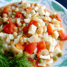 Garbanzos with Fennel