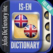 Icelandic English Dictionary APK for Blackberry