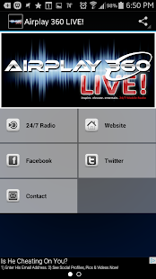 Airplay 360 LIVE! - screenshot