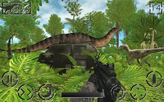 Screenshot of Dinosaur Hunter: Survival Game