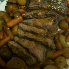 Crock Pot Roast Beef With Mushroom and Sun-Dried Tomato Gravy
