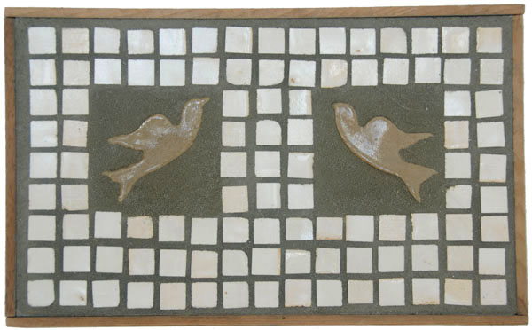 Birds and Mosaics <br> 9,3 x 15,3 in