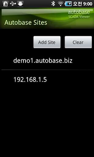 Autobase HMI SCADA Viewer