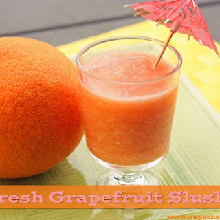 2 Ingredient Grapefruit Slush