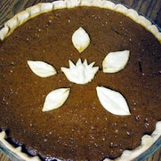 Pumpkin and Toffee Pie