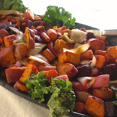 Roasted Root Veggies in the Deli