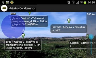 Screenshot of Idrija - Cerkno Travel Guide