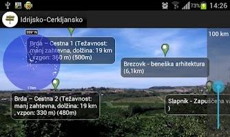 Screenshot of Idrija - Cerkno Travel Guide