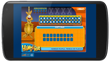 Screenshot of Hangaroo