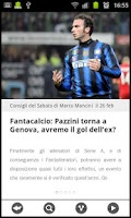 Screenshot of News calcio e calciomercato
