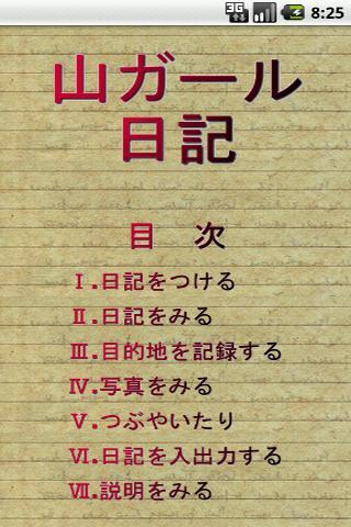 山ガール日記