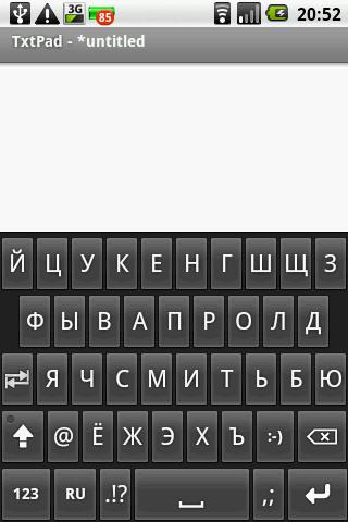 Cyrillic on demand