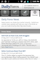 Screenshot of Daily Forex News & Analysis