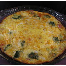 Low-Carb Crustless Ham & Broccoli Quiche