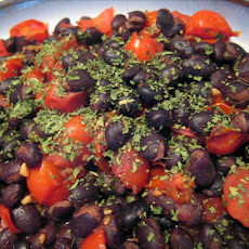 Black Beans and Tomatoes - Hot and Spicy