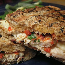 Chicken and Roasted Pepper Panini