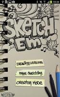 Screenshot of Sketch 'Em