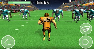 Screenshot of American Football Race