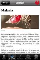 Screenshot of Lægens Rejseråd