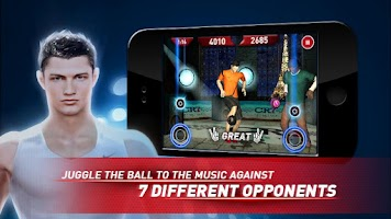 Screenshot of Cristiano Ronaldo Freestyle