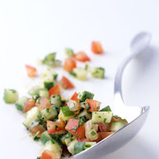 Dave's Tomato and Cucumber Salad