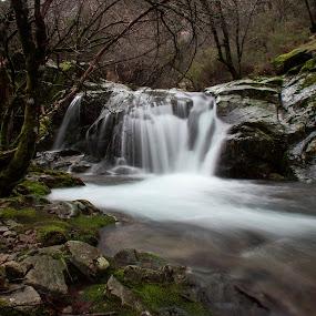 Ribeira de Quelhas by Nuno Miguel Valente - Landscapes Waterscapes ( coentral, serra da lousã, aldeias do xisto, waterfall, quelhas, castanheira de pêra )