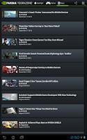 Screenshot of NVIDIA TegraZone 2
