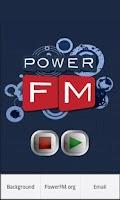 Screenshot of PowerPlayer