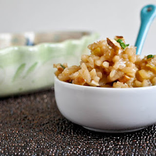 Apple Risotto with Toasted Pecans