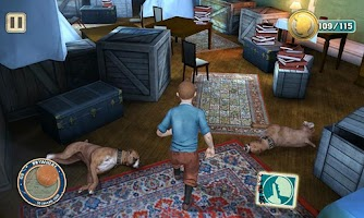 Screenshot of The Adventures of Tintin
