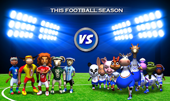 Screenshot of Wild Soccer 3D
