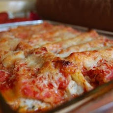 Weight Watchers Crab, Ricotta & Basil Cannelloni