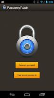 Screenshot of Password Vault