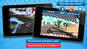 Screenshot of Gamyo Racing