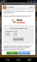 Screenshot of Ověření Plátce DPH