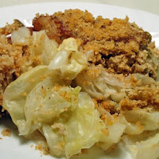 Cabbage Apple Cinnamon Casserole (Vegetarian Too!)