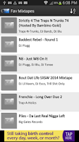 Screenshot of Mix.Hiphop Mixtapes