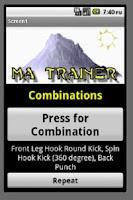 Screenshot of Martial Arts Trainer