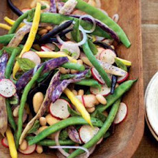 Bean and Radish Salad