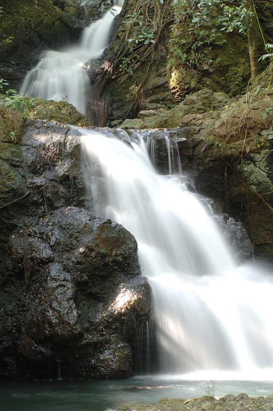 A waterfall in Hilo on the Big Island of Hawaii.