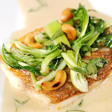Red Snapper with Baby Bok Choy