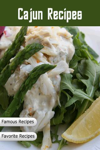 Cajun Recipes Cookbook