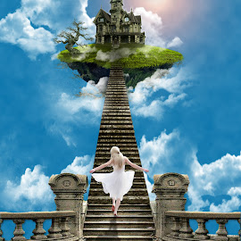 Dancing to the Floating Palace by Mulya Net - Digital Art Things