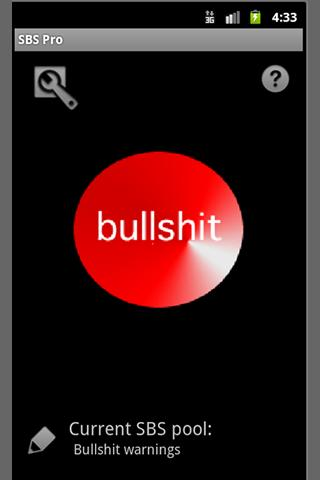 SBS add-on: Bullshit Button